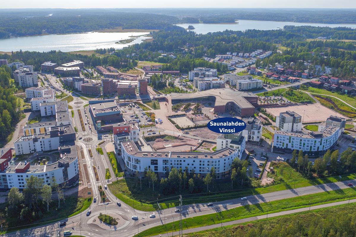 Asunto Oy Saunalahden Vinssi, asunto A20 kuva 1   myytävät asunnot Espoo