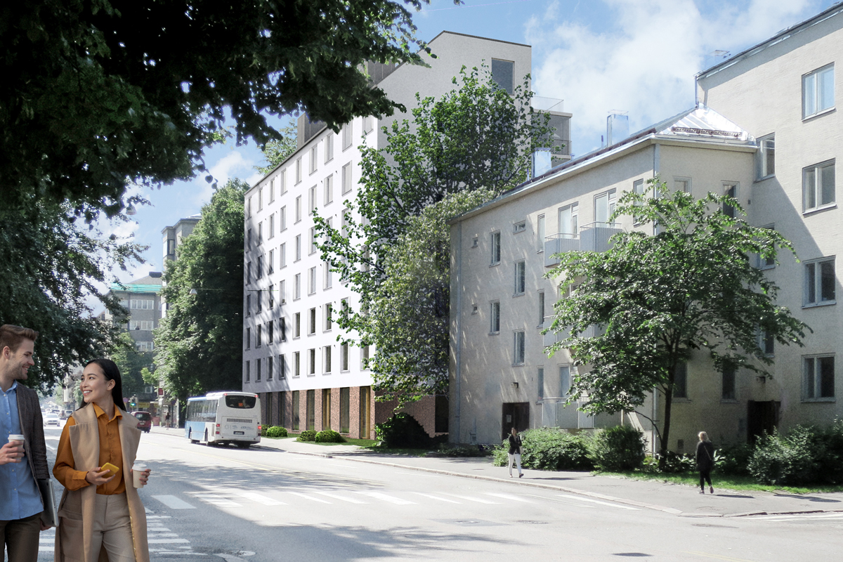 Asunto Oy Töölön Castellum, asunto B21 kuva 9   myytävät asunnot Helsinki
