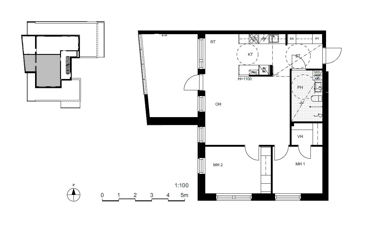 Asunto Oy Saunalahden Vinssi, asunto A22 kuva 2   myytävät asunnot Espoo